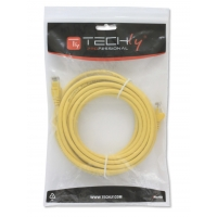 Cavo di rete Patch in CCA Cat.5E Giallo UTP 20m