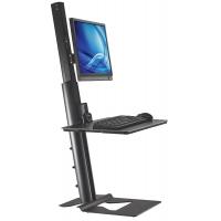 Postazione di Lavoro Ergonomica per Monitor e Tastiera