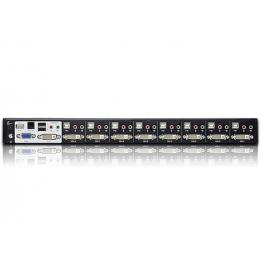 Switch KVM USB DVI Audio 8 porte 2560x1600 CS1788