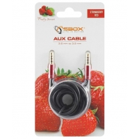 Cavo Audio Stereo Jack 3.5 mm M/M 1,5m Rosso