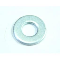 (250 pcs) Zinc plated steel plain washer,M4