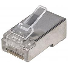 Confezione 100 plug Modulari Pro Line RJ45 Cat.5E