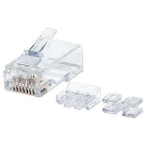 Confezione 80 plug Modulari Pro Line RJ45 Cat.6A