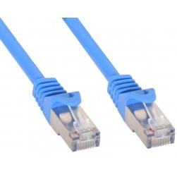 Cavo di rete Patch in rame Cat.6 Blu SFTP LSZH 0,5m