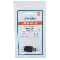 Adattatore USB-A 2.0 maschio a USB-C™ femmina Nero