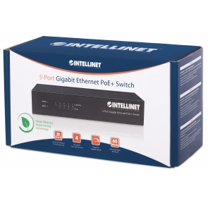 Switch PoE+ 5 porte Gigabit Ethernet