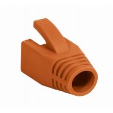 Copriconnettore per Plug RJ45 Cat.6 8mm Arancione