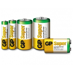Blister 1 Batteria 9V GP Super