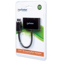 Adattatore DisplayPort 2-in-1 4K HDMI VGA