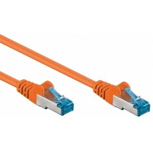 Cavo di rete Patch in rame Cat. 6A Arancione SFTP LSZH 3m