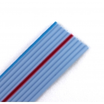 6 wire flat ribbon cable grey (10cm)