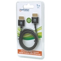 Cavo HDMI High Speed con Ethernet Ultra Sottile 3m