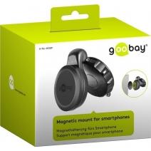 Supporto Magnetico da Auto per Smartphone Universale Nero