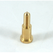 Extruder brass nozzle 1.75mm filament in, 0.35mm out, v5