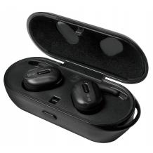 Auricolari Bluetooth v4.2 con Custodia di Ricarica Nero