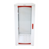Armadio Server Rack 19   600x1000 27 Unita  Bianco serie IdealNE