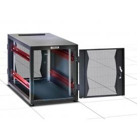 Armadio Server Rack 19   600x1000 14 Unità Nero Assemblat