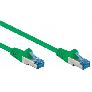 Cavo di rete Patch in rame Cat. 6A Verde SFTP LSZH 10m