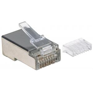 Confezione da 90 Plug Modulari Cat6 RJ45 STP