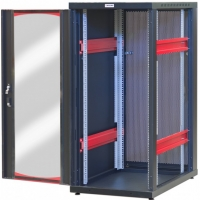 Armadio Server Rack 19   600x1000 20 Unita  Nero serie IdealNET