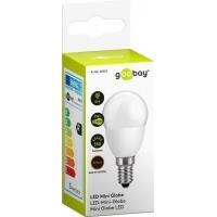 Lampada LED Mini Globo E14 Bianco Caldo 5W, Classe A+