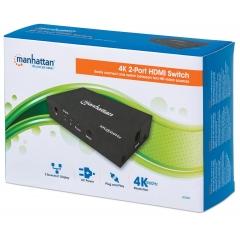Switch HDMI 2 porte 4K HDR 4:4:4