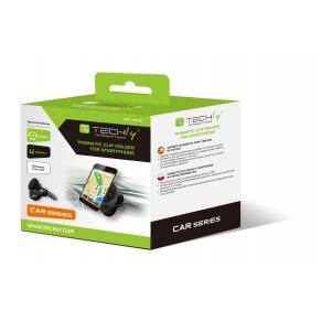 Supporto magnetico a clip, per cruscotto auto, per Smartphone