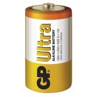 Blister 2 Batterie GP Ultra Alcaline Torcia D 13AU/LR20