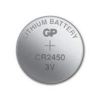 Blister 5 Batterie Litio a Bottone CR2450