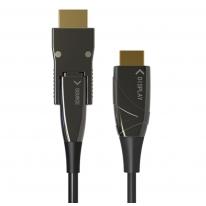 Cavo HDMI A/A Micro HDMI AOC in Fibra Ottica 4K 50m