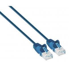 Cavo patch di rete Cat6 UTP Slim 3 m Blu