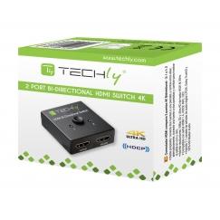 Switch HDMI 2 porte Bidirezionale 4K 60Hz