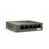 Switch 5 Porte 10/100Mbps Desktop con 4 porte PoE