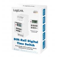 Timer Digitale per Montaggio su Guida DIN