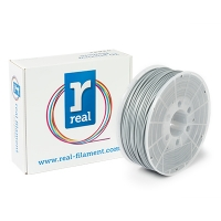REAL ABS - Silver - spool of 1Kg - 3mm
