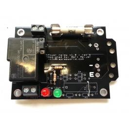 Power relay v1.0 DIY kit (low voltage version, max 24V)