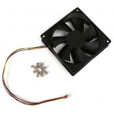 92x92x25mm DC Cooling Fan w/ PWM, Speed Senso