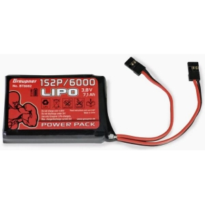 batteria Lipo HV 1s 6000 mAh per TX HoTT