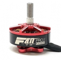 F40 PRO II 2600Kv Reactor Red FPV Race - 4 pezzi