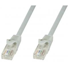 Cavo di rete Patch in rame Cat.8.1 SFTP LSZH 1m Grigio