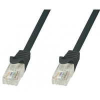 Cavo di rete Patch in rame Cat.8.1 SFTP LSZH 1m Nero