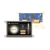 4.3 (inches) Gen4 Display for the Raspberry Pi - Resistive Touch