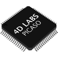 Picaso Embedded Graphics Processor