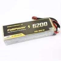 Batteria Lipo 4S 6200mAh 50C Gold V2 - DEANS