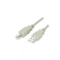 CAVO USB 2.0 A-B 2MT M/M BG PER STAMPANTE ADJ