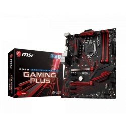 MB MSI B360 GAMING PLUS S1151 4D4 1M.2 7U3.1 4S3 D/H/V