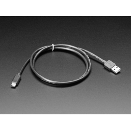 USB Type A to Type C Cable - approx 1 meter / 3 ft long