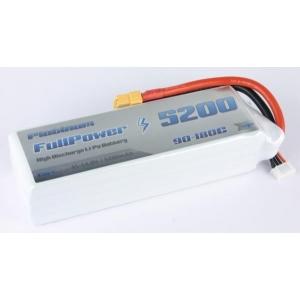 Batteria Lipo 4S 5200 mAh 90C PLATINUM - XT90