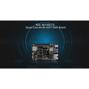 ROC-RK3308-CC Quad-Core 64-Bit AIOT Main Board