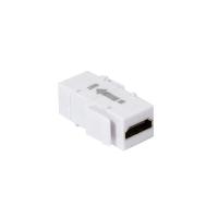 Accoppiatore Keystone HDMI con Ripetitore Bianco